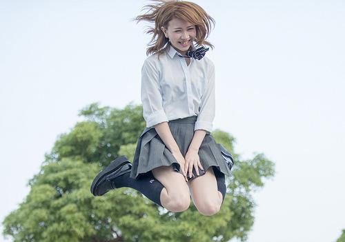 タイムスリップ女子高生  モデル 市川日葵さん
