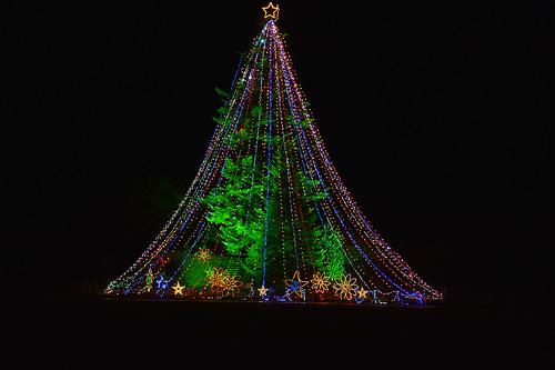 宮ヶ瀬ダム 2015 Christmas イルミネーション