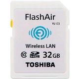 東芝 TOSHIBA 無線LAN搭載 FlashAir III 最新世代 Wi-Fi SDHCカード Class10 日本製 並行輸入品 (32GB)