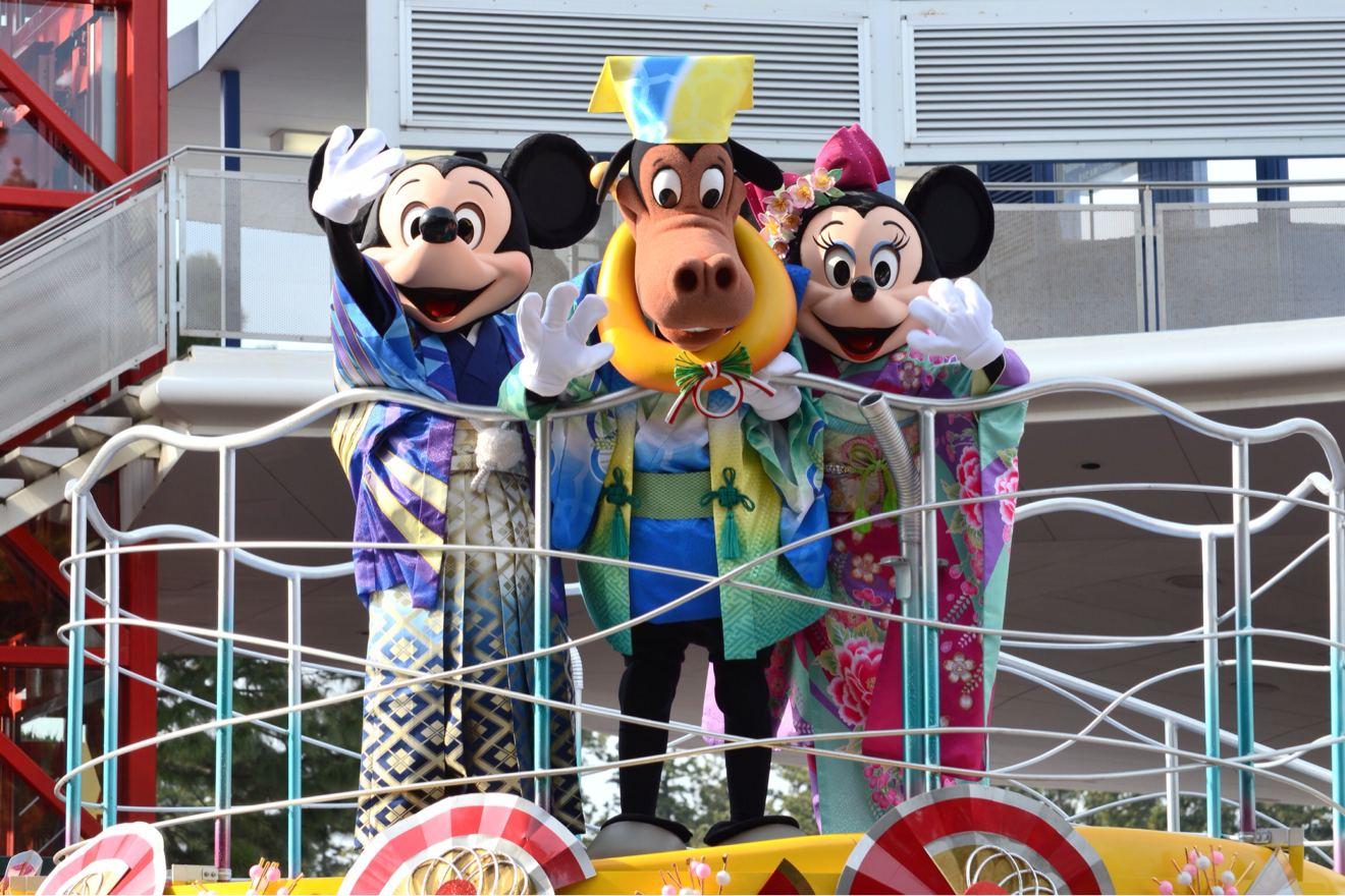 2014 東京ディズニーランド ニューイヤーズグリーティング