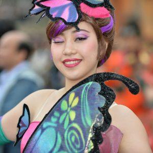 ディズニーシーのファッジナブルイースターは美男美女ばかりだった:-O