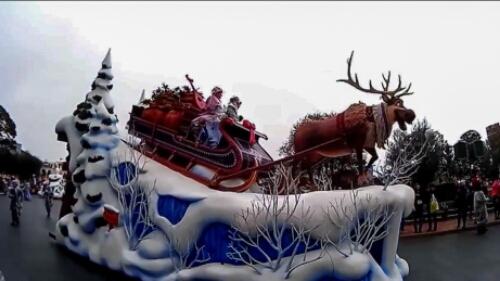 フローズンファンタジー雪動画を格安アクションカメラDBPOWER EX5000で撮影してみた