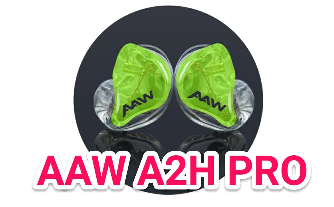 究極のイヤフォンカスタムIEMをAAW A2H PROで作成したよ!(こりゃ最高だ)