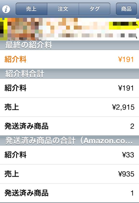 Amazonアフィリエイトを管理するアプリ AmReportLiteが便利