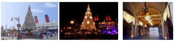 東京ディズニーリゾートのクリスマスと年越しあれこれまとめ